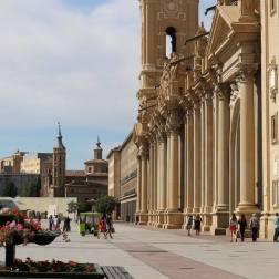 Place et Basilic del Pilar - Saragosse
