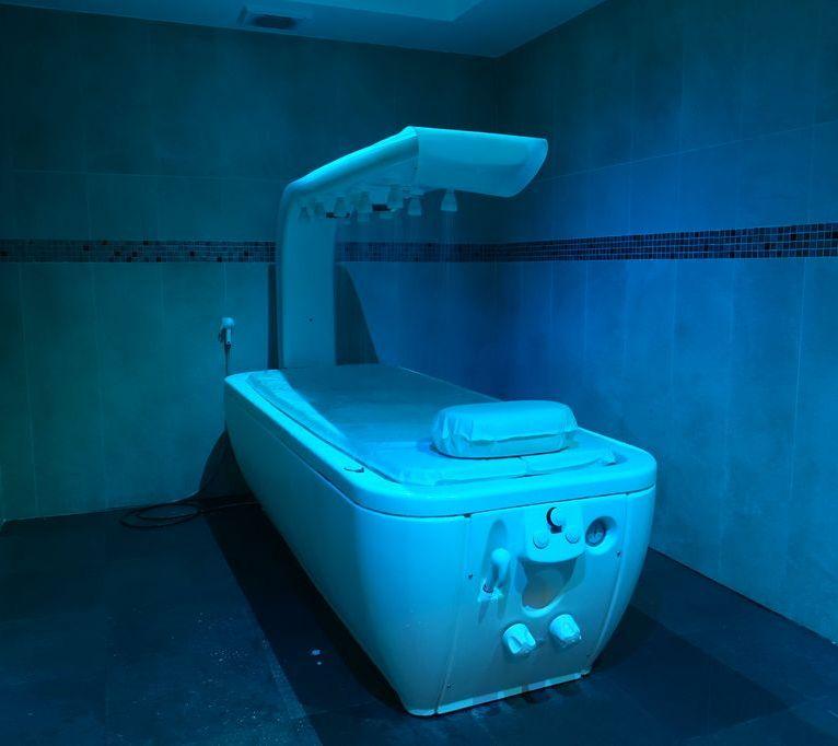 SPA Hotel Fontcaude - Douche à affusion