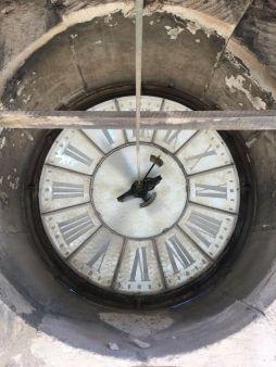 L'horloge de l'Opéra Montpellier
