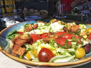 Plage Cocobaia - salade italienne
