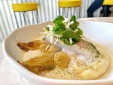 Plat Lieu jaune de ligne poché - restaurant Chez Delagare
