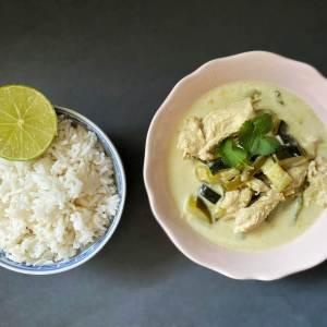 RECETTE // Départ pour la Thaïlande avec unGreen Curry