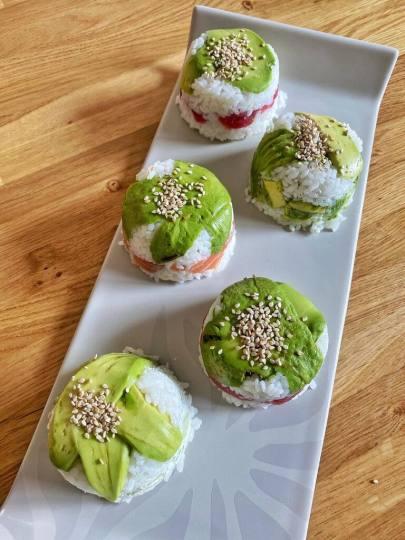 sushis bac a glaçons