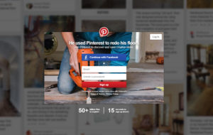 Pinterest business account sign-up
