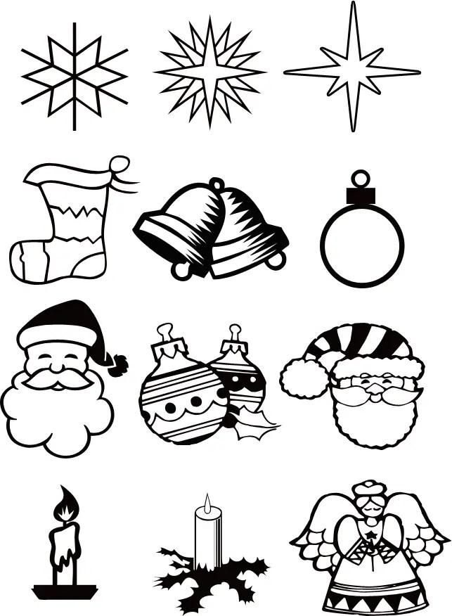 Adornos Dibujos Arbol De Navidad Para Colorear Novocom Top