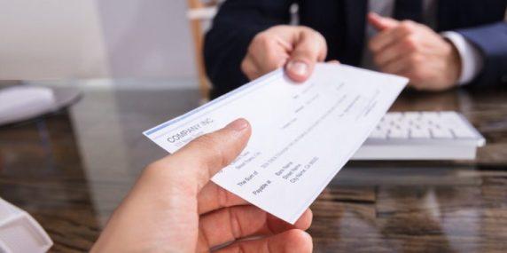 assegno di deposito bitcoin