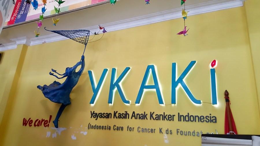 #JadiBerani Dengan Yayasan Kasih Anak Kanker Indonesia