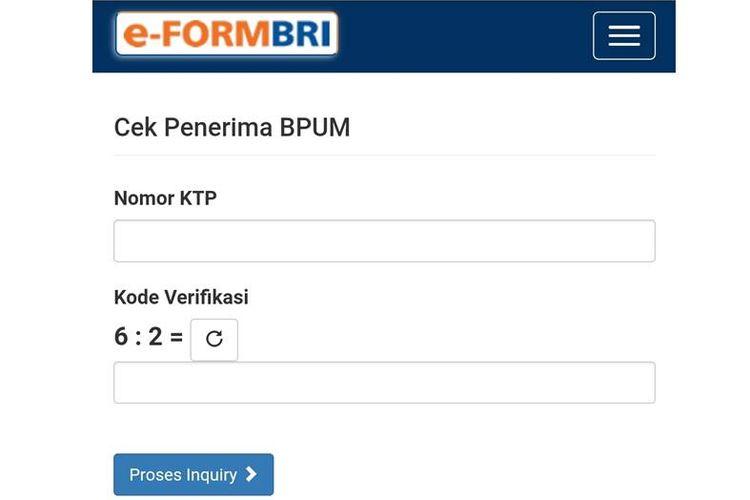 BPUM E-Form BRI Tahap 2
