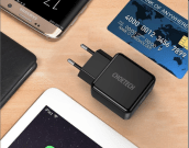Adaptor Handal, Quick Charge 3.0 USB 18W Wall Charger