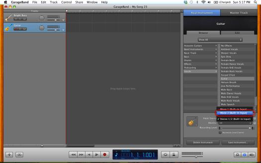 08 track 2 input