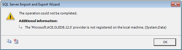 sql server 2008 import excel xlsx