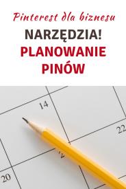 Planowanie pinów na Pintereście