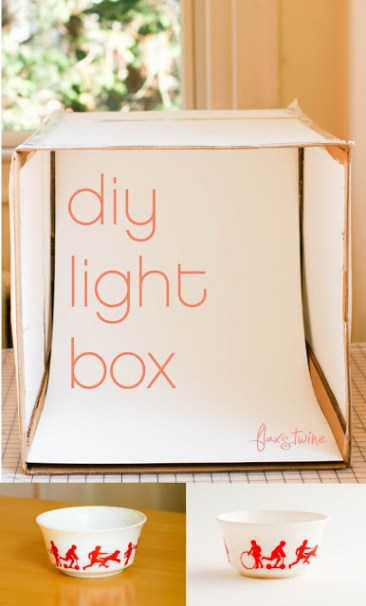 DIY Photo Lightbox