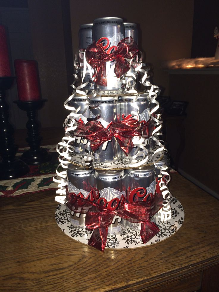 Beer Can Cake Pinterest Possible