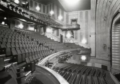 Interior, Alexandra Theatre Birmingham where Pinter appeared in Doctor in the Houseby T. Willis (on tour), Hay Fever by Noel Coward (July 1957), Inspector inSpider's Webby Agatha Christie (August 1957), Chris inAll My Sonsby Arthur Miller (September 1957), Parson inThe Telescopeby R. C. Sheriff (September 1957)