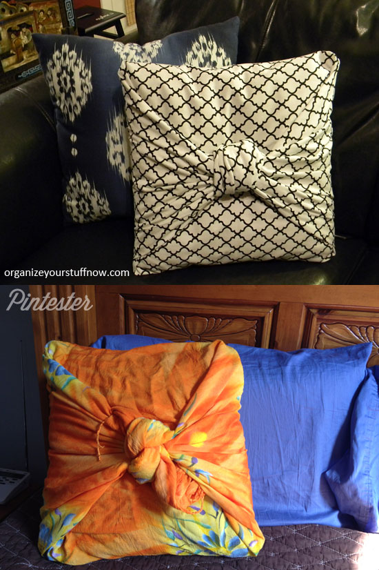 No-Sew Pillow Cover (6/6)