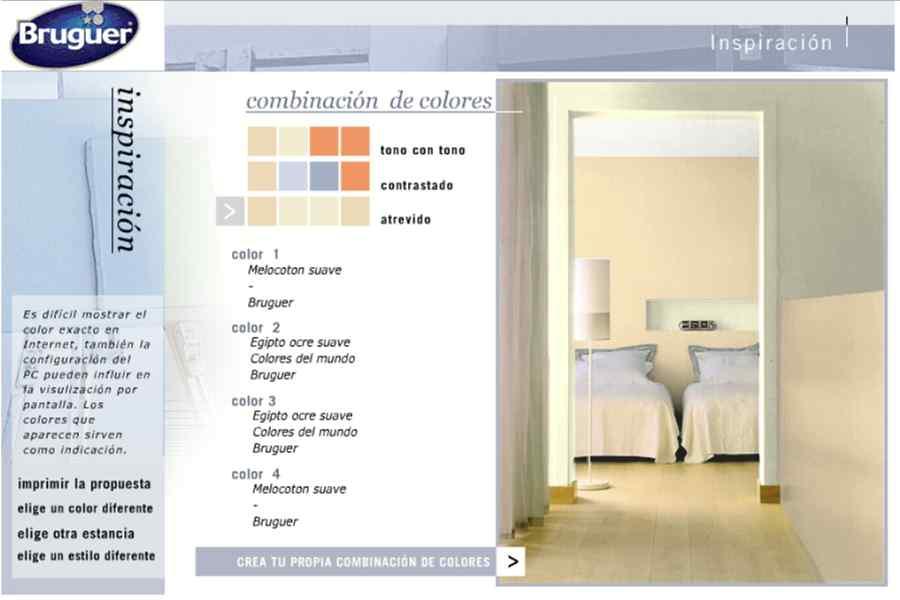 Simuladores de ambientes pinta antes de pintar - Pinturas bruguer simulador ...