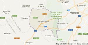 Mapa Pintores en Navalcarnero