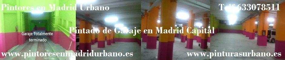 Banner Pintar Garaje en Madrid - Pinturas Urbano