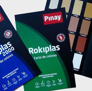 Carta de Colores Rokiplasas de Pinay