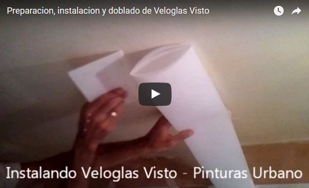 Instalacion de Veloglas Visto a doble corte en Las Rosas