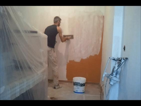 Aplicando 1 Mano de Aguaplast Macy Renovacion 4