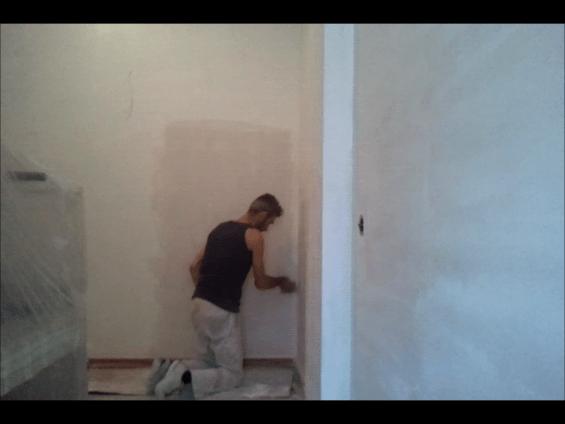 Aplicando 2 Mano de Aguaplast Macy Renovacion 7