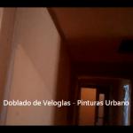 Doblado de veloglas - Pinturas Urbano 14