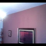 Esmalte al agua color Marron en Dormitorio de Coslada (9)