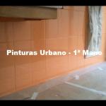 Esmalte azulejos color naranja teja 3