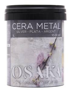 Cera Metal Plata Osaka