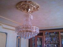 Plafon de escayola oro metalizado