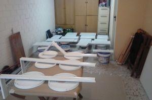 1ª Mano de Laca en Muebles de Cocina (2)