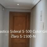 Entrada Plastico Sideral 500 color gris S-1500-N
