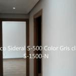 Pasillo Plastico Sideral 500 color gris S-1500-N