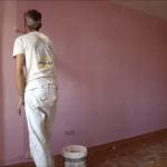 Aplicando Esmalte color Malva 3