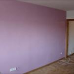 Aplicando Esmalte color Malva 6