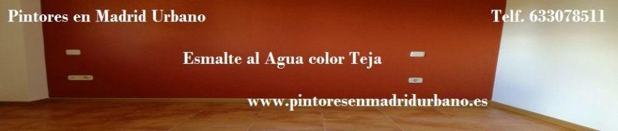 Banner Esmalte al Agua Color Teja