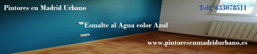 Banner Esmalte al Agua Monto Color Azul