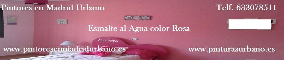 Baner Esmalte Rosa Oscuro