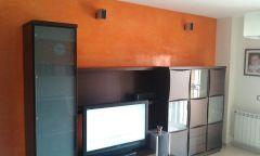 Estuco Veneciano Veteado Color Naranja (6)