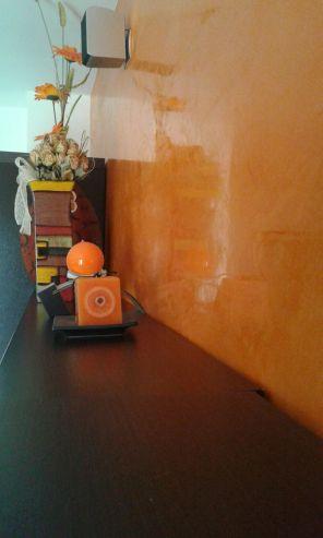 Estuco Veneciano Veteado Color Naranja (9)
