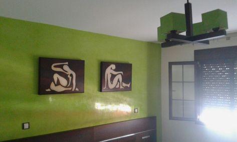 Estuco Veneciano Veteado color verde (6)