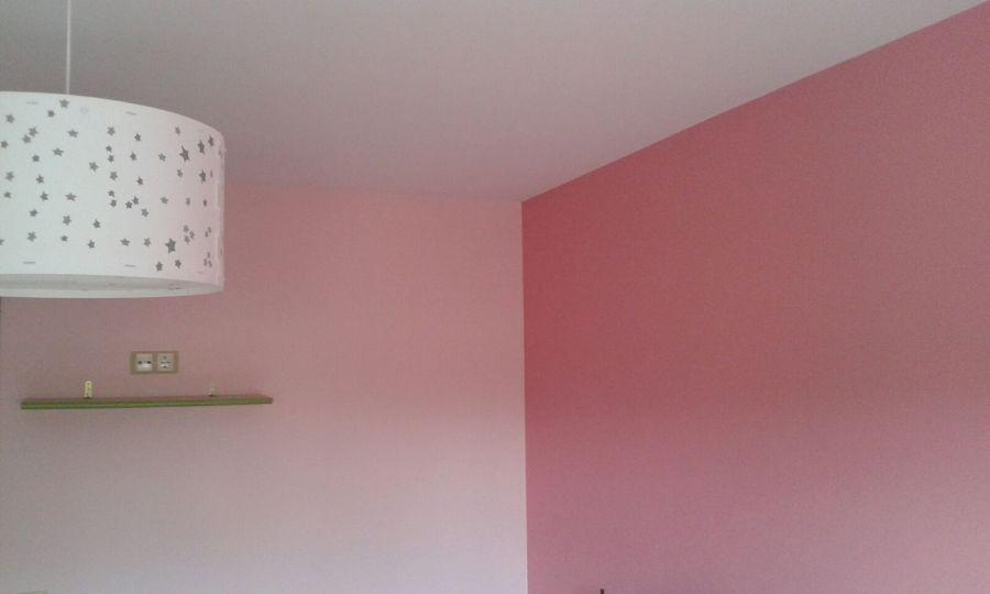 Plastico Color Rosa Claro y Esmalte Rosa Oscuro (12)
