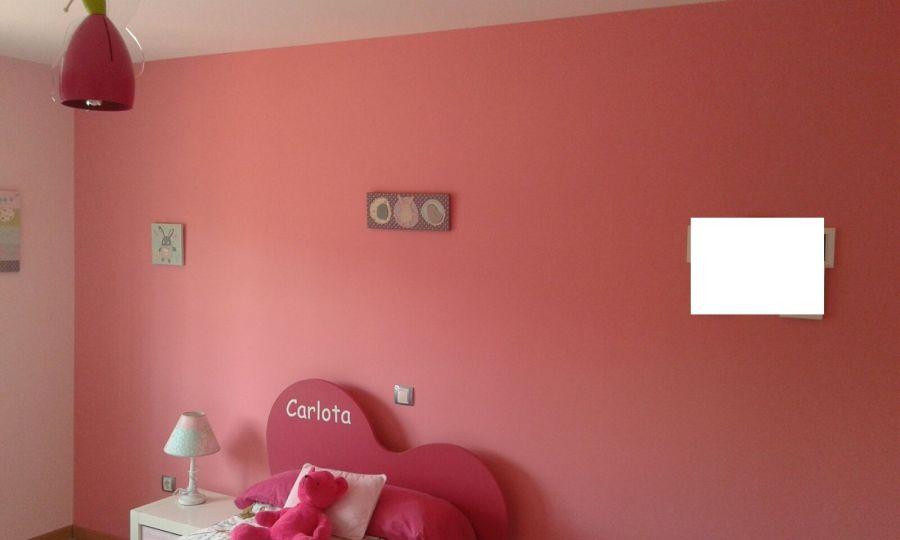 Plastico Color Rosa Claro y Esmalte Rosa Oscuro (4)