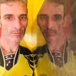 Estuco Veneciano Original a rayas amarillas y negras Borussia Dortmund (110)