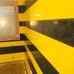 Estuco Veneciano Original a rayas amarillas y negras Borussia Dortmund (93)