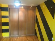 Estuco Veneciano Original a rayas amarillas y negras Borussia Dortmund - Terminado dia (4)