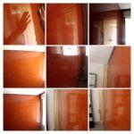 Estuco Veteado Naranja Rojizo - COLLAGE