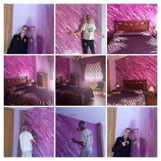 Estuco Marmoleado Color Violeta Coslada - COLLAGE